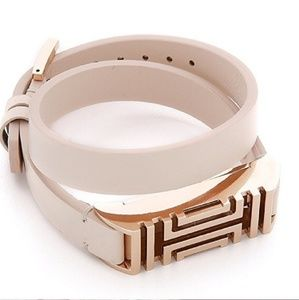 TORY BURCH Leather Bracelet for Fit Bit